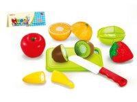 Набор фруктов для резки с ножом и доской, пакет