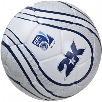 Мяч футбольный 2k sport parity silver fifa inspected, white/silver/navy, р