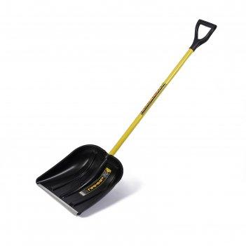 Лопата пластиковая спринт, памир с металлическим черенком  и v-р