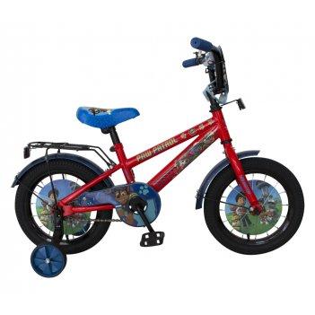 Детский велосипед, navigator щенячий патруль, колеса 14, стальная рама, ст