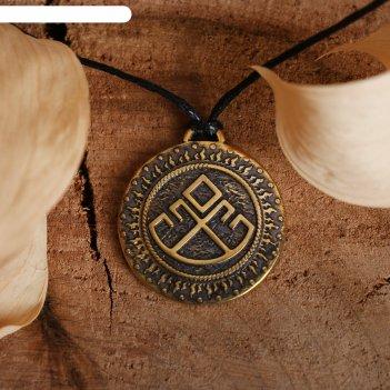 Славянский оберег из ювелирной бронзы лельник