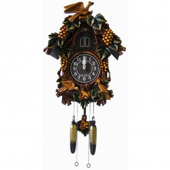 Настенные часы с кукушкой sinix 635 gr