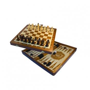 Шахматы + шашки + нарды кинг 34