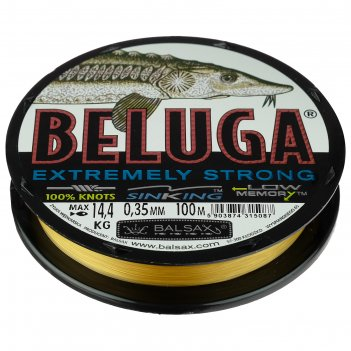 Леска balsax beluga box 0.35, 100м