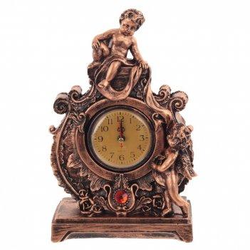 Часы настольные декоративные ангел, l18 w9 h28 см, (1хаа не прилаг.)