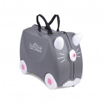 Чемодан на колесах котенок бенни