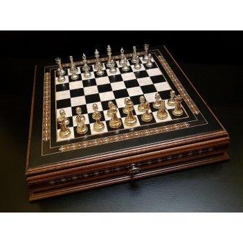 Шахматы авангард венге 43х43см