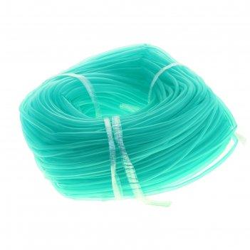 Шланг силиконовый в бухте (зелёный)(ф-4мм) 100 метров а12-10011