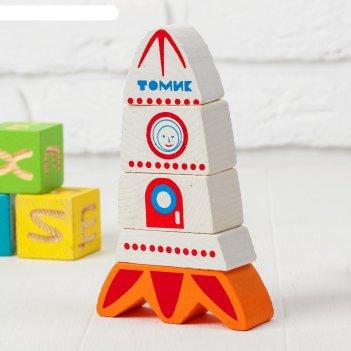 Пирамидка безосевая ракета   513