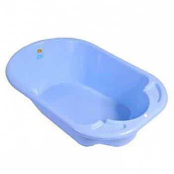 Ванночка детская дельфин голубой 2901la-bl