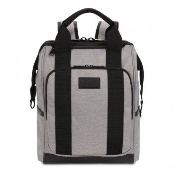 Рюкзак swissgear 16,5doctor bags, серый/черный, полиэстер 900d/пвх, 29 x 1