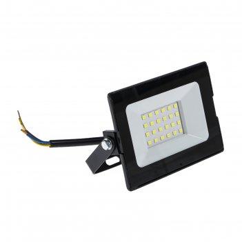 Прожектор светодиодный rev, 20 вт, 6500 к, 1700 лм, ip65