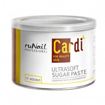 Сахарная паста ультрамягкая runail cardi, 400 мл