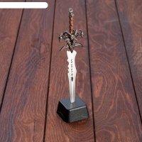 Сувенирный меч на подставке, 8,5 x 3,5 x 27 см