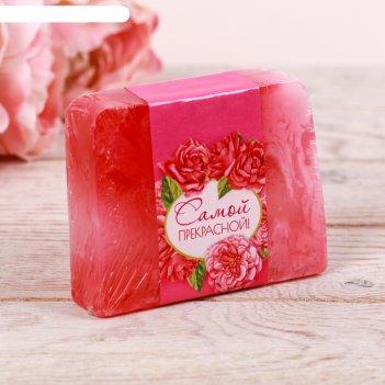Мыло ручной работы самой прекрасной, болгарская роза