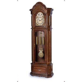Часы напольные columbus cl-9089m «вишневая элегия»