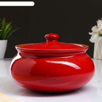 Супница вятская 2,5л, красный