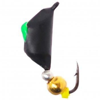 Безнасадка чёрная, шар-бисер, 2 г, d=4,5 мм