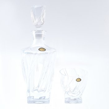 Набор для виски gold crystal 7 предметов