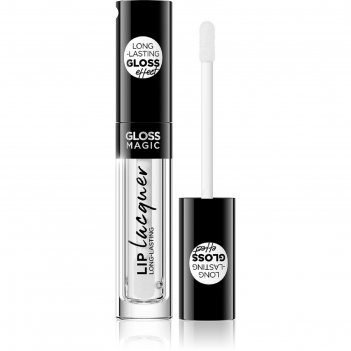Блеск для губ eveline gloss magic lip lacquer, тон 20