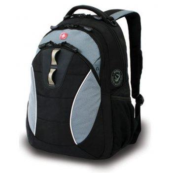 Рюкзак wenger цв. черный/серый, полиэстер 900d, 32х15х46