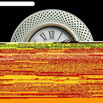 Часы настенные, серия: интерьер, претория, рама белая, d=40 см
