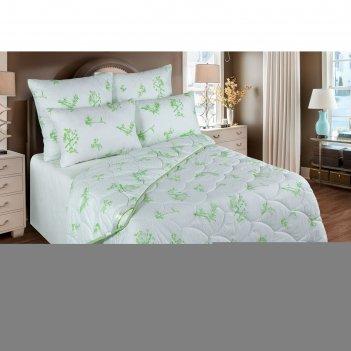 Одеяло станд. 220*205, об/300-20эк1, бамбуковое волокно, ткань глосс-сатин
