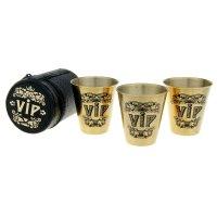 Набор стопок vip (3 стаканчика по 80 мл)