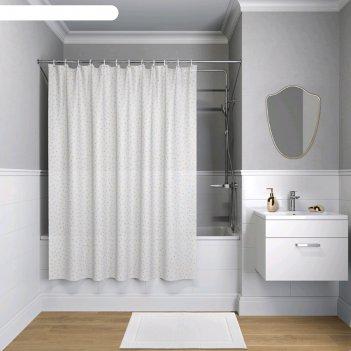 Штора для ванной комнаты iddis peva p10pv11i11, 180x180 см