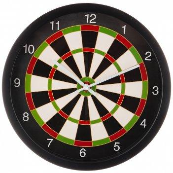 Часы настенные кварцевые дартс диаметр=35 см. диаметр циферблата=31 см.  (