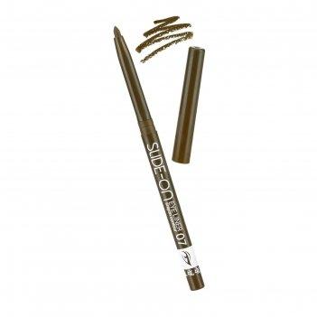 Контурный карандаш для глаз tf slide-on eye liner, тон №07 зелёно-коричнев