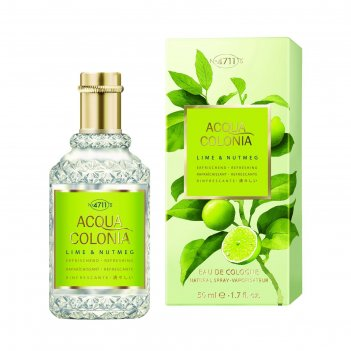 Одеколон 4711 acqua colonia refreshing lime & nutmeg, 50 мл