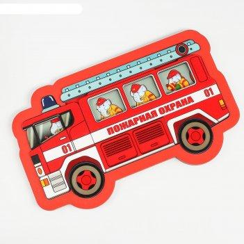 Развивающая доска пожарная охрана 18 дет, арт.8191