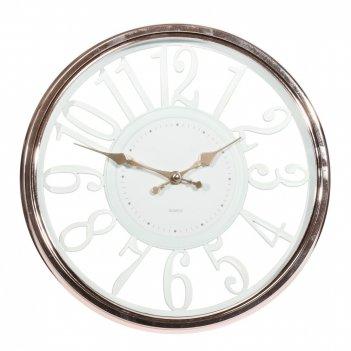 Часы настенные декоративные, l30,5 w4 h30,5 см, (1хаа не прилаг.)