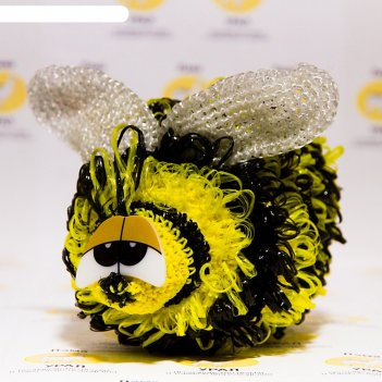 Набор для вязания игрушки пчелка жужа 22х15 см