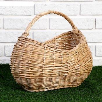 Корзина «урожай», 39x23x16/24/32 см, ручное плетение, ива