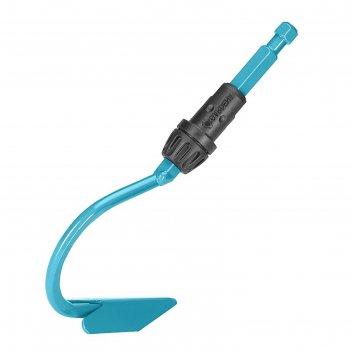 Культиватор, 1 зубец, ширина 3.6 см, насадка для комбисистемы, без черенка