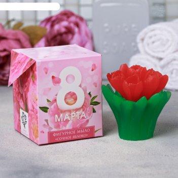 Мыло 8 марта букет тюльпанов