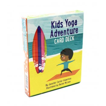 "Карты таро: ""kids yoga adventure deck"""