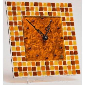Часы  glass deco ns-m1