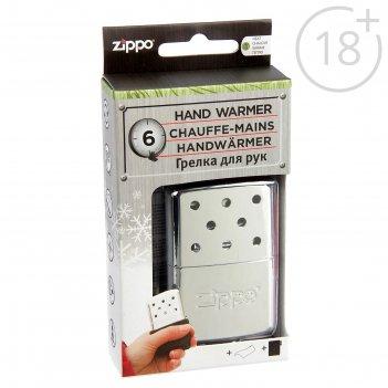Каталитическая грелка zippo 40360 с покрытием high polish chrome