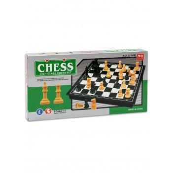 Шахматы магнитные пластиковые (поле 18 см)