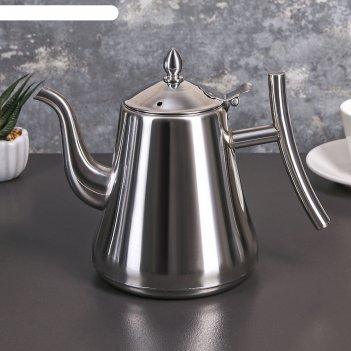 Чайник с ситом 1,4 л жуан
