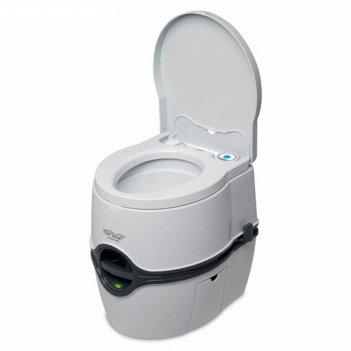Биотуалет porta potti excellence electric, жидкостный, нижний бак 21 л, ве