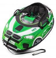 Надувные санки-ватрушка (тюбинг) small rider snow cars bw (бело-красный)