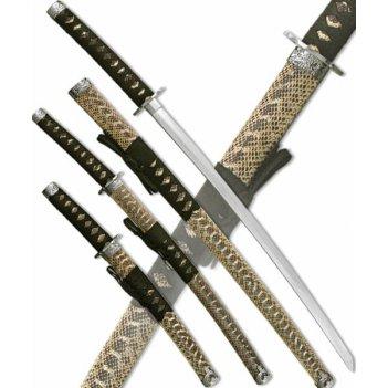d-50009 набор самурайских мечей, 3 шт.