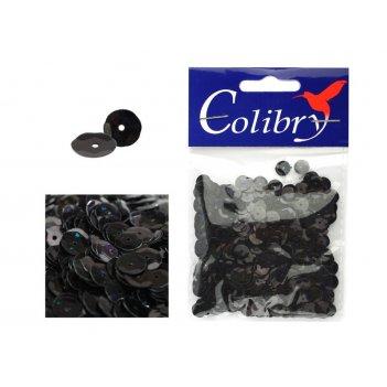 Пайетки граненые голографические colibry 6мм