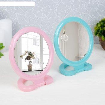 Зеркало складное-подвесное, с рамкой под фотографию, d зеркальной поверхно