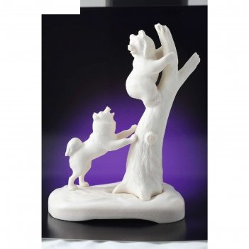 Статуэтка «медвежонок с собакой» 14х11х7,7 см