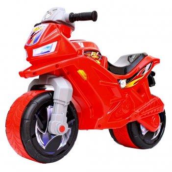 Ор501в6 каталка-мотоцикл беговел racer rz 1, цвет красный